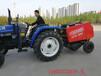 牧草行走式打捆机厂家麦秆软质秸秆收集圆捆机
