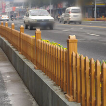 北京停车场围栏pvc护栏隔离护栏厂家直销图片