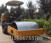 3.5T单钢轮座驾式振动压路机柴油振动压路机路面用压路机图片
