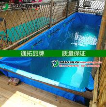 增城储水池支架定做_番禺帆布价格_养殖帆布池_养鱼养虾鱼池图片