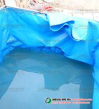 养鱼帆布水池_活动折叠式帆布鱼池_家用帆布矿山畜水池厂家直销图片