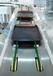 翔鹰餐具回收机不锈钢输送带配餐圆带式运输机传送带