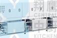 翔鹰清洗设备自动洗锅机节能米饭锅清洗米饭生产线配套