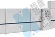 翔鹰链传送式不锈钢洗碗碟机烘干一体机清洗消毒餐盘