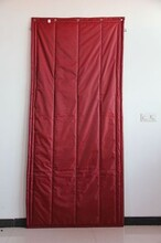 泰山区高档皮革棉门帘可开窗口图片
