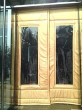 称多县超大透明窗口皮革棉门帘长期供应图片