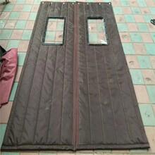 汤阴县学校挡风保暖磁性棉门帘咨询热线图片