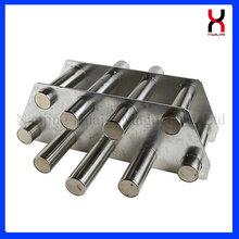 工业料斗磁力架物料过滤铁杂质磁铁架