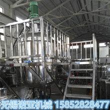无锡诺亚MF-2000L粘稠物料用带真空高剪切功能的不锈钢反应釜图片