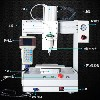 青岛高效桌面式全自动点胶机_青岛自动化点胶机设备