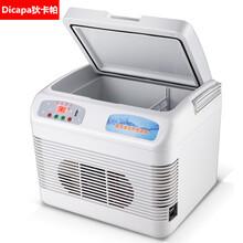 狄卡帕15升医用冷藏箱救灾急用卫生箱保温箱车载冰箱电子冷暖箱双制冷冰箱图片
