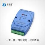 以太网I/O模块8DI8DO转TCP/IP网络开关量采集模块图片