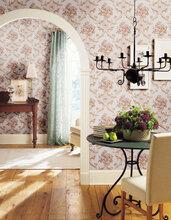 西安简约风情经典条纹无纺布客厅墙纸卧室现代电视背景墙壁纸图片