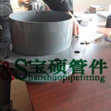 鋼塑管件給水管件插口法蘭乙管平插圖片