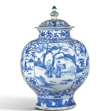北京古董私下交易古董拍卖,元青花大罐拍卖图片