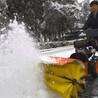 除雪推雪机城市道路积雪自由组合式扫雪推雪铲
