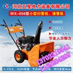 """小型运雪车、小型多功能除雪车""""清除浮雪、少清除压实雪""""图片"""