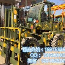 北京海淀建筑工程专用3吨四驱越野叉车可按要求定做