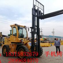 3吨四驱越野叉车北京建筑工程专用四驱越野叉车价格表