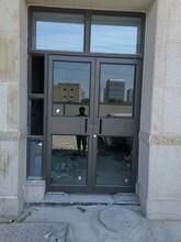 陜西西安店鋪門地彈簧門雙層肯德基門廠家訂做圖片
