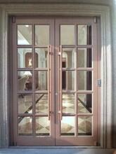 佛山美容院大門弧形門頭帶框玻璃門設計廠家圖片