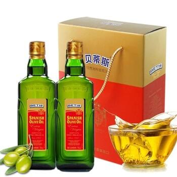 贝蒂斯原装进口特级初榨橄榄油500ML礼盒