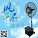 工业电风扇水冷空调扇降温加湿喷雾扇升降版