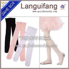兒童舞蹈純色連褲襪薄款高彈力,舞蹈連褲襪訂做廠家圖片