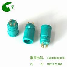 厂家直销M85P公母防水插头绿胶