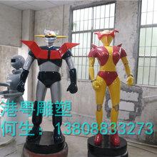 玻璃钢变形金刚5雕塑玻璃钢大型机器人雕塑变形金刚5雕塑