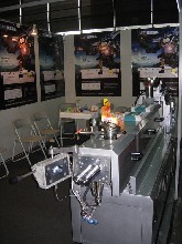 K供应小批量荧光色母粒色母料生产的——MH-36塑料造粒机
