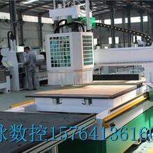 供应板式家具数控开料机三工序开料机排钻加工中心价格配置济南品脉数控