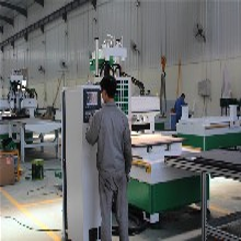 橱柜门板开料机木工加工中心板式家具生产线设备