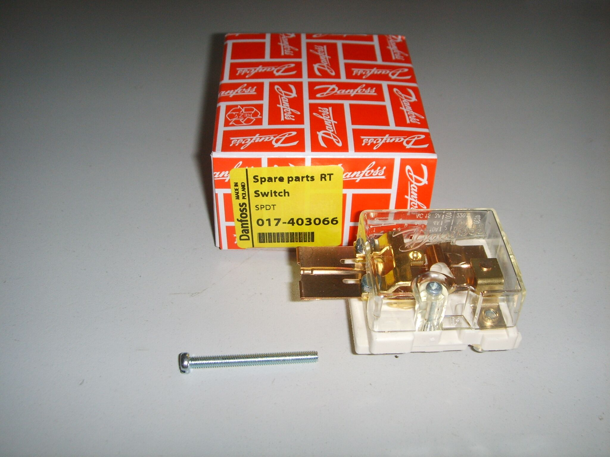 RT-2000.2-6bar丹佛斯压力开关现货