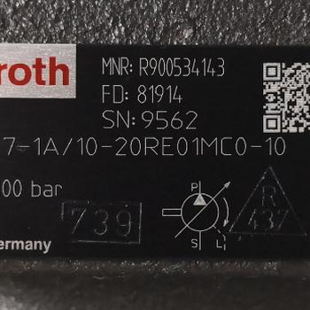 PV7-1X/10-20RE01MC0-10力士乐REXROTH液压泵