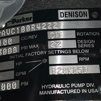 PAVC100R4222派克PARKER液壓泵