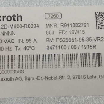 HNF01.2D-M900-R0094-A-480-NNNN力士乐驱动器