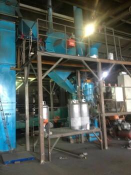 全自动环保覆膜砂生产线设备