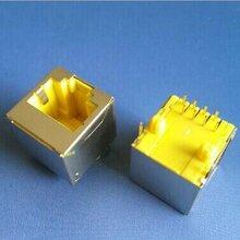 黄色RJ45网络插座,黄色网口图片