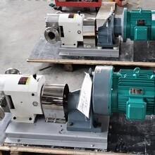 供应不锈钢转子泵-南京凸轮转子泵图片