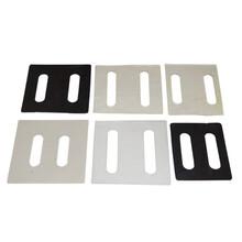 供应橡胶PVC绝缘防腐垫片黑色幕墙角码绝缘垫片规格多样