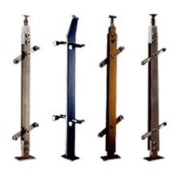 常见楼梯立柱楼梯立柱安装楼梯不锈钢立柱