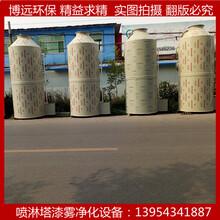 博远专业生产加工PP板喷淋塔喷漆净化设备废气处理设备