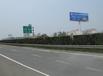 徐州市区高速出入口收费站500米处两面高炮连霍高速