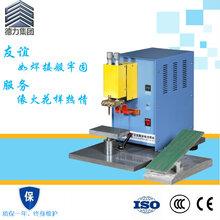 惠州德力交流脉冲电池点焊机单面双点电极适用于各种电池焊接
