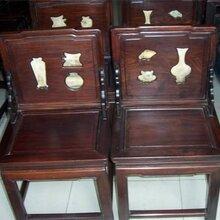 上海浦东区老红木家具回收网图片
