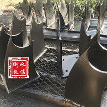 鄂州隔离铸铁护栏支架2020新报价图片