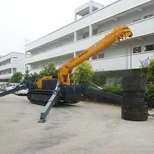 伸缩式蜘蛛履带吊小型12吨履带吊车图片
