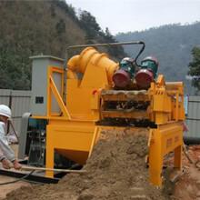 安徽安庆砂水混合物处理分离机-打桩冲击钻图片
