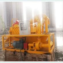过滤机/工地建筑桩基打桩泥浆分离机过滤机陕西渭南生产销售一体图片